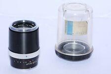 Carl Zeiss Contarex Sonnar 135mm f4 telephoto BLACK lens