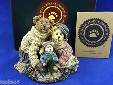 Boyds Bears Bearstone Stephanie, John & George The Family Tree Figurine #228348