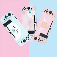 Cute Cat Pink Hard Case Protector Cover For Nintendo Switch Console Jon-Cons