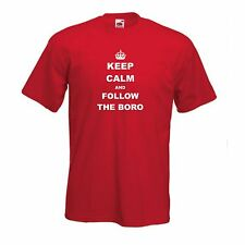 Keep Calm Boro Middlesbrough FC Kids Boys Girls Child Youth T-Shirt - All Sizes