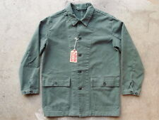 Levis LVC 1955 Sawtooth Jacket Size XS 29166-0001 Faded Thyme Chore Work Denim