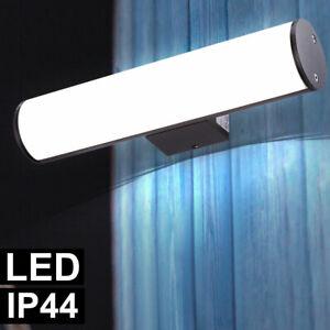 LED Design Wand Leuchte grau Fassaden Garten Beleuchtung Balkon Außen Lampe ALU