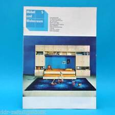DDR Möbel und Wohnraum 5/1982 Fachzeitschrift Küchenmöbel für Rollstuhlfahrer
