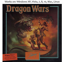 Dragon Wars 1990 PC Mac Linux Game