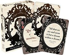 Edgar Allan Poe set of 52 playing cards + jokers (nm)