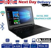 "Lenovo V110-15IKB 15.6"" Laptop Intel 7th-Gen i5 2.50GHz 4GB RAM 750GB HDD Win 10"