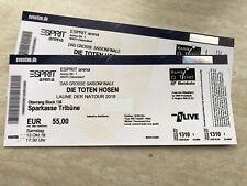 !TOP! 1x / 2x Die Toten Hosen - Düsseldorf - Sitzplatz Tickets Samstag 13.10.