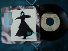 "STEVIE NICKS Talk To Me 7"" (7-99582) Pic Sleeve USA copy 1985 EX / VG"