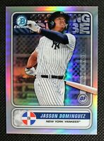 JASSON DOMINGUEZ - 2020 Bowman Chrome New York Yankees #STG-JD