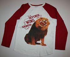 New Gap Kids Defense Wins Games Long Sleeve Lion Top Shirt Size 10 11 Year NWT