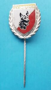 Emaillierte S.V. DAGERSHEIM - Ehrennadel in Silber      Schäferhund - Verein