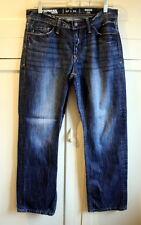 EXPRESS Mens Size 30x30 Rocco Slim Fit Low Rise Straight Leg Denim Jeans