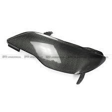 AAA For Honda Civic FD2 Front Headlight Block Out Cover EPA Style Carbon Fiber