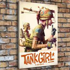 SR103356-Tank Girl Painting HD Print on Canvas Home Decor Room Wall Art Picture