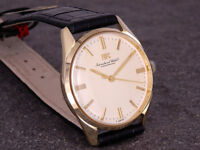IWC INTERNATIONAL WATCH CO WUNDERSCHÖNE DRESS WATCH 585 / 14K GOLD CAL 89 R910