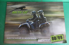 ARCTICT CAT quad ACCESSORI PUBBLICITA DEPLIANT BROCHURE CATALOG ACCESSORIES