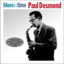 Paul Desmond BLUES IN TIME / FIRST PLACE AGAIN Remastered NEW SEALED 2 CD