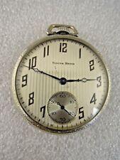 Antique South Bend Studebaker 21 Jewels Pocket Watch
