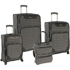 Nine West Addison 4 Piece Spinner Luggage Set; Grey/Pewter