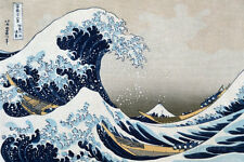 The Great Wave at Kanagawa (from 36 views of Mount Fuji), c.1829 Poster - 36x24