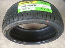 NEW (pair) 205 40 17 Delinte DH2 series high performance all season tires x2