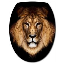 Sticker Abattant de WC Tête de Lion 036