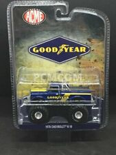 Greenlight 1/64 GOODYEAR 1970 Chevrolet K-10 Monster Truck ACME EXCLUSIVE 51267