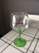 Green Stem Tanqueray Gin Copa/goblet glasses NEW