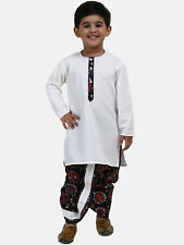 Kids Ethnic Cotton Dhoti Kurta set For Boy 3M-07 Years Festive Party Wear