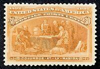 US Stamp Scott #239 Mint OG NH 30 Cents 1893 Columbian Expo