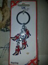 Union Jack United Kingdom UK Flag Key Chain Keyring Ring Keychain Keyfob Gift UK