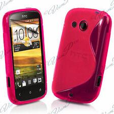 Accessory Cover Case TPU Silicone PINK HTC Desire C A320E/ G7C