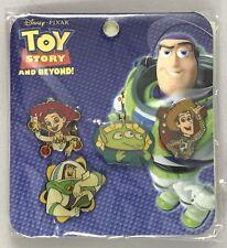 HK Disney Toy Story and Beyond Mini Pin Set 41129 Woody Buzz Jessie Alien NIP