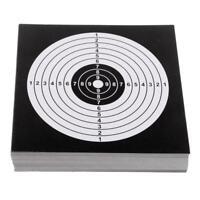 Visage de tir à l'arc cible 100pcs pour la pratique de chasse de tir à