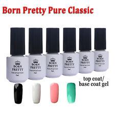 6pcs Born Pretty LED UV Gel Polish  Classic DIY w/ Top Coat Base Coat Gel