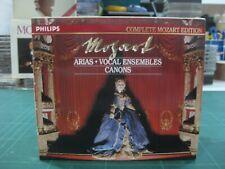 MUSICA CLASICA MOZART ARIAS VOCAL ENSEMBLES CANONS 8 CD BOX + LIBRETO-PHILIPS