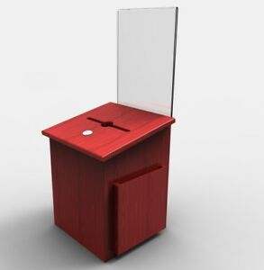 Comment Collection Suggestion Box Donation Charity Box Ballot Sign Holder 11571