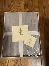Ralph Lauren 100% Cotton Throw Blanket