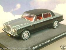 DIECAST 1/43 JAMES BOND 007 ROLLS-ROYCE SILVER SHADOW I MOONRAKER BLUE/BLACK