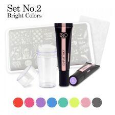 Christrio- Stamping Paint Gel kit #2