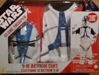 OFFICIAL STAR WARS CLONE TROOPER FANCY DRESS COSTUME WORLD BOOK DAY 2021 NEW