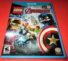 LEGO Marvel's Avengers Nintendo Wii U *Factory Sealed! *Free Shipping!