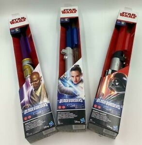 Star Wars BladeBuilders Electronic  Lightsaber 3 different characters Age 4+
