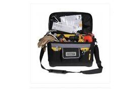 Borsa porta attrezzi in tessuto Stanley bauletto rigido utensili tracolla tasche