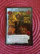 Kult CCG-no life without being alive//promotional card fr