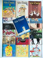Lot of 1988 - 1989 New Yorker Magazines 19 Full Issues Art Work