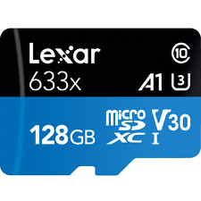 Lexar 633x 128GB micro SD SDHC SDXC UHS-I U3 V30 Class 10 Memory Card 4K GoPro