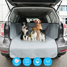 Quilted Pet Cargo Liner Car Van Truck Dog Boot Seat Cover Protector Waterproof