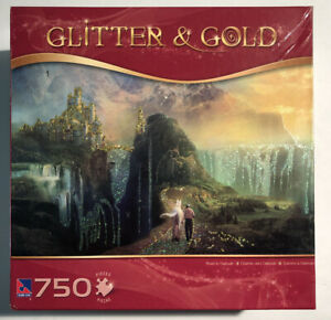 TCG Glitter Gold Jigsaw Puzzle 750 Pieces Road To Oalovah