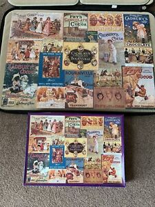 gibsons 1000 piece jigsaw puzzles Cadbury Heritage Collection Complete